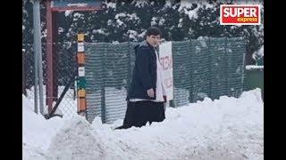 Syn Beaty Szydło chodzi po kolędzie [WIDEO PAPARAZZI]
