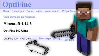 Optifine 1 14 3