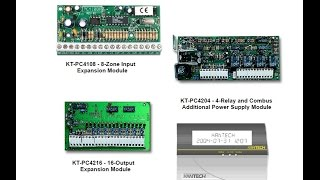 Installing Combus Modules to KT-300 and KT-315 controllers