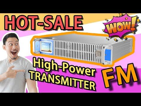 Amazing 150w/350w/600w/1kw FM Broadcast Radio Transmitter With Touch Screen For Radio Station