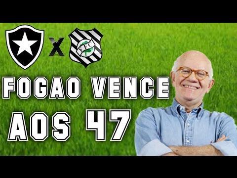 Gol De Figueirense 0 x 1 Botafogo (Edson Mauro) - Rádio Globo/CBN - Série A - 09/10/2016