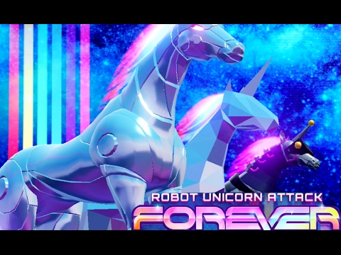 ROBOT UNICORN ATTACK 3: FOREVER | Gameplay IOS