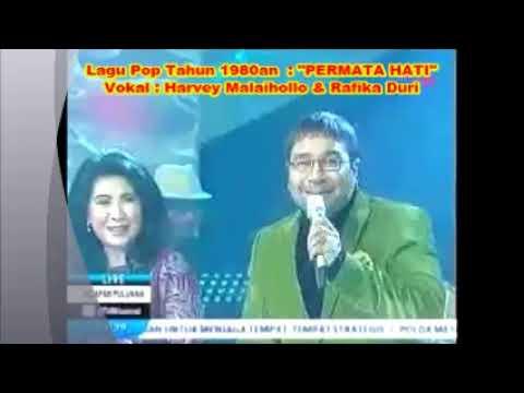 1,045) Lagu Lama _ PERMATA HATI  _ Harvey Malaihollo & Rafika Duri  _  Pop Kenangan 1980 an