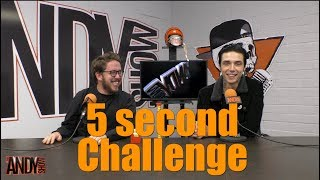 The Andy Show TV Minisode #18: 5 Second Challenge