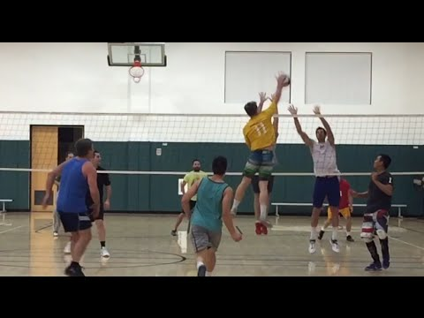 Open Gym (2/11/16) Volleyball Highlights