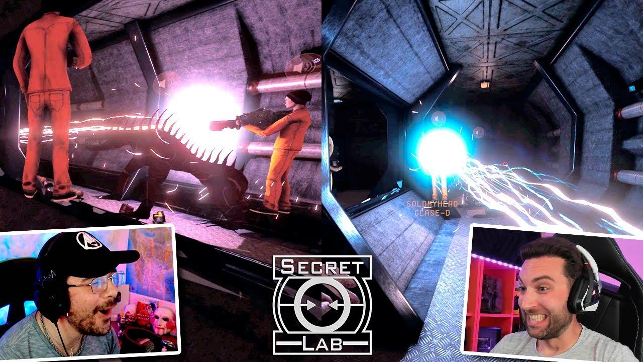 SCP - Secret Lab. #25 | 173 Y 096 VS ARMA M4TA SCP!! LISTOS PARA DESTROZARLO TODO!!