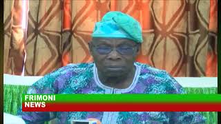 BREAKING NEWS TODAY  FORMER PRESIDENT OLUSEGUN OBASANJO SAYS PRESIDENT MUHAMMADU BUHARI IS INCONPETE