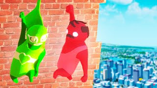 MOST HILARIOUS MULTIPLAYER GLITCHES! (Gang beasts Multiplayer) thumbnail