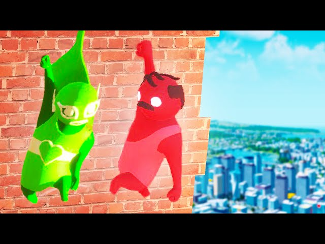 MOST HILARIOUS MULTIPLAYER GLITCHES! (Gang beasts Multiplayer)