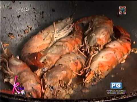 Recipe Sauteed Ulang With Pinoy Caviar Youtube