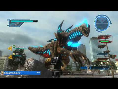 Let's Laugh - Earth Defense Force 5 Co-op - Mission #18 A Boss appears! thumbnail