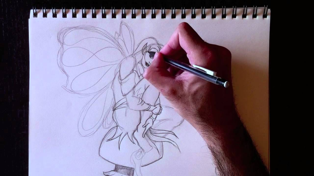 Dessiner Une Fée Drawing A Fairy Paolo Morrone