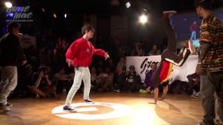GROOVE'N'MOVE B-BOYING BATTLE 2015 - Semi-Final / Tekken Kidz vs Funk Fockers