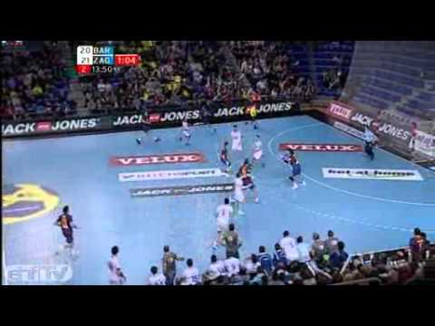 Velux Ehf Champions League Fc Barcelona Intersport V Croatia Osiguranje Zagreb Highlights Youtube