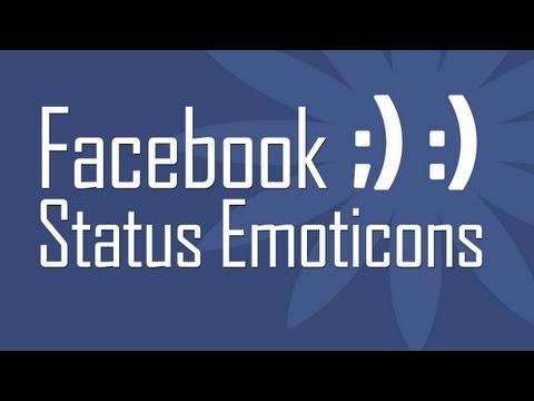 Use New Facebook Status Emoticons