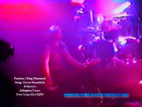 Pantera/King Diamond: Green Manalishi
