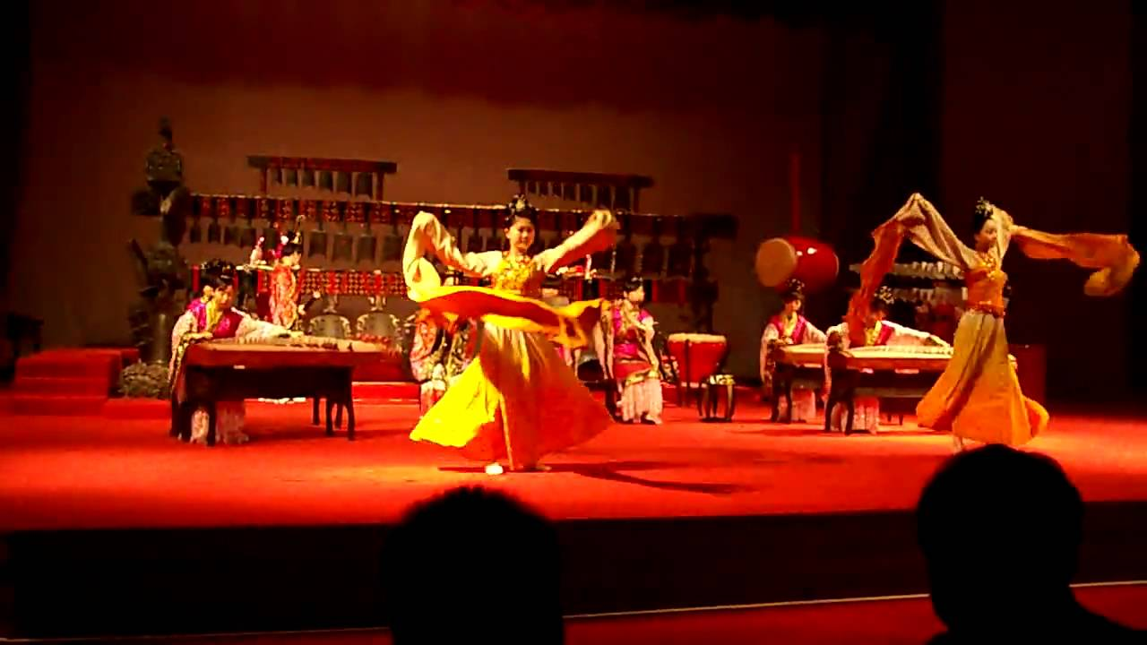 Chinese song and dance