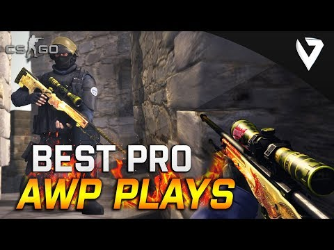 WHEN PROS USES AWP 2018! BEST AWP MOMENTS 2018!