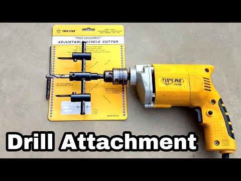 Adjustable Circle Cutter    Drill Machine Attachment    Chandrabotics