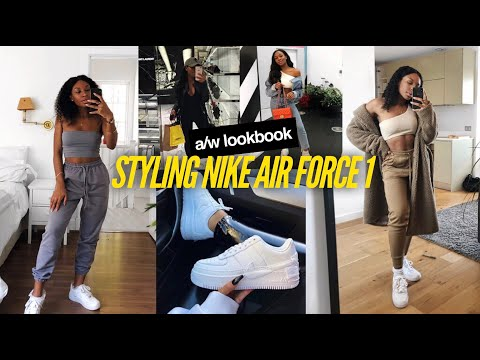 HOW I STYLE | NIKE AIR FORCE 1'S ft DSoar Hair