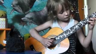 Furby & guitar
