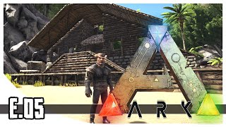 ARK: Survival Evolved - Epic Base Location & House - EP.05