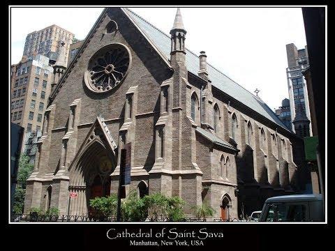 """SERBIAN ORTHODOX CATHEDRAL OF SAINT SAVA New York - """"OVO JE SRBIJA"""""""