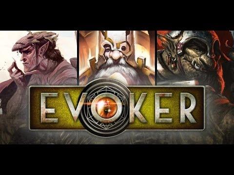 Evoker -- A Magic Fantasy Game (GamePlay)