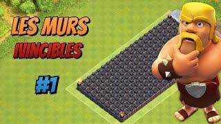 Les Murs Invincibles #1 Les Murs 9 | Clash of Clans !