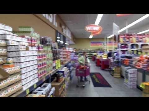 Grocery Outlet # 171 N Spokane WA-  8 Foot LED light conversion