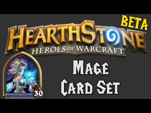 Hearthstone: Heroes of Warcraft (Mage Set Overview)