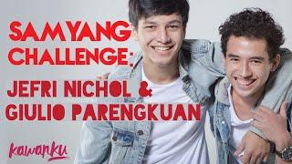 Video Samyang Challenge: Jefri Nichol & Giulio Parengkuan download MP3, 3GP, MP4, WEBM, AVI, FLV Januari 2018