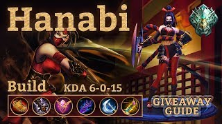 Mobile Legends: Hanabi Gameplay! You can't Stop the Ninja! Giveaway + Hero Guide
