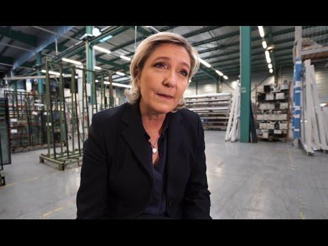 """Marine Le Pen à Forbach : """"Macron ne représente pas les oubliés mais le mondialisme destructeur"""""""