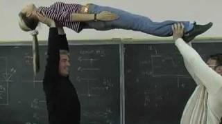 Обучение студентов гипнозу: каталепсия