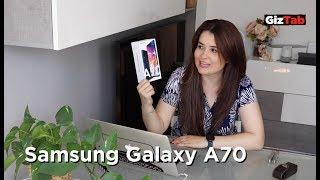 Galaxy A70: ¿El mejor smartphone barato de Samsung? (Pre review + unboxing)