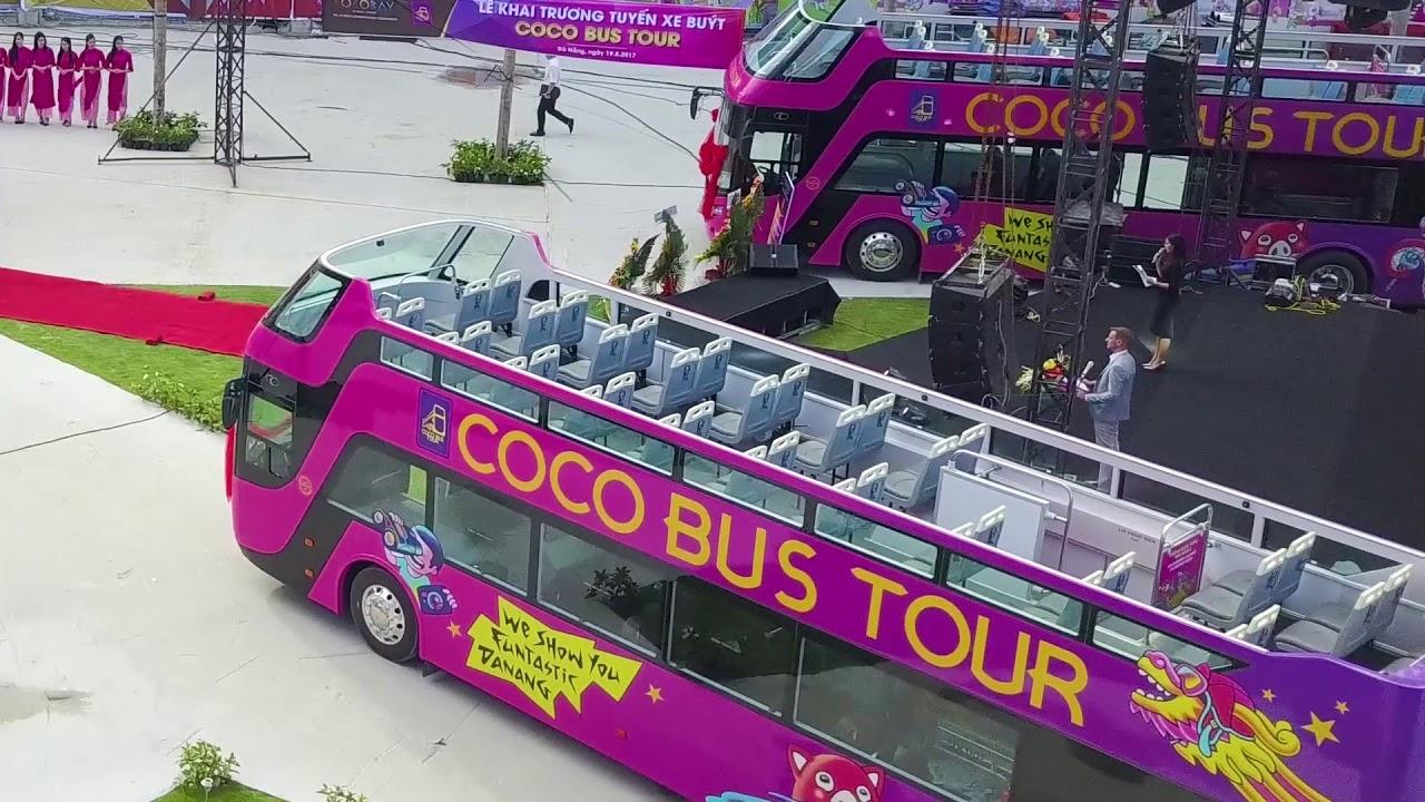 [COCOBAY ĐÀ NẴNG] Khai trương tuyến Bus Coco City Tour