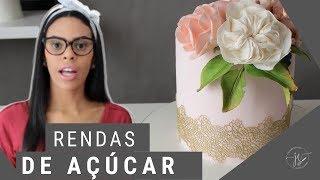 RENDAS DE AÇÚCAR - SEM SEGREDOS  RENDA MIX -