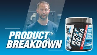 Best BCAA Shredded - The Perfect Combo