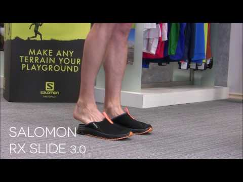 salomon rx slide 3.0 slipper clogs youtube