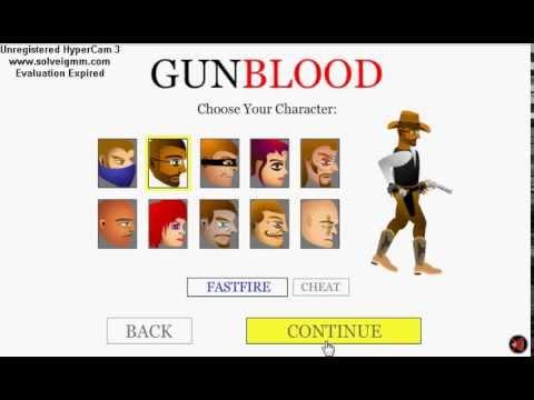 GunBlood (All Cheat Codes)