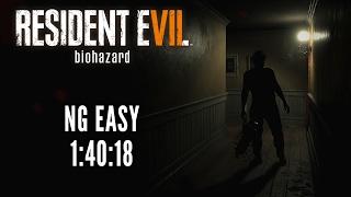 Resident Evil 7 | NG Easy Any% Speedrun in 1:40:18 [World Record]