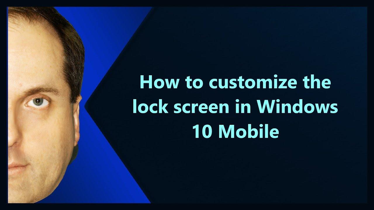 windows 10 customize