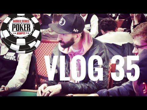$10,000 WSOP Main Event. Drama On The Bubble | Poker VLOG 35