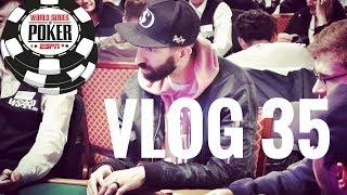 $10,000 WSOP Main Event. Drama on the Bubble | Poker VLOG 35