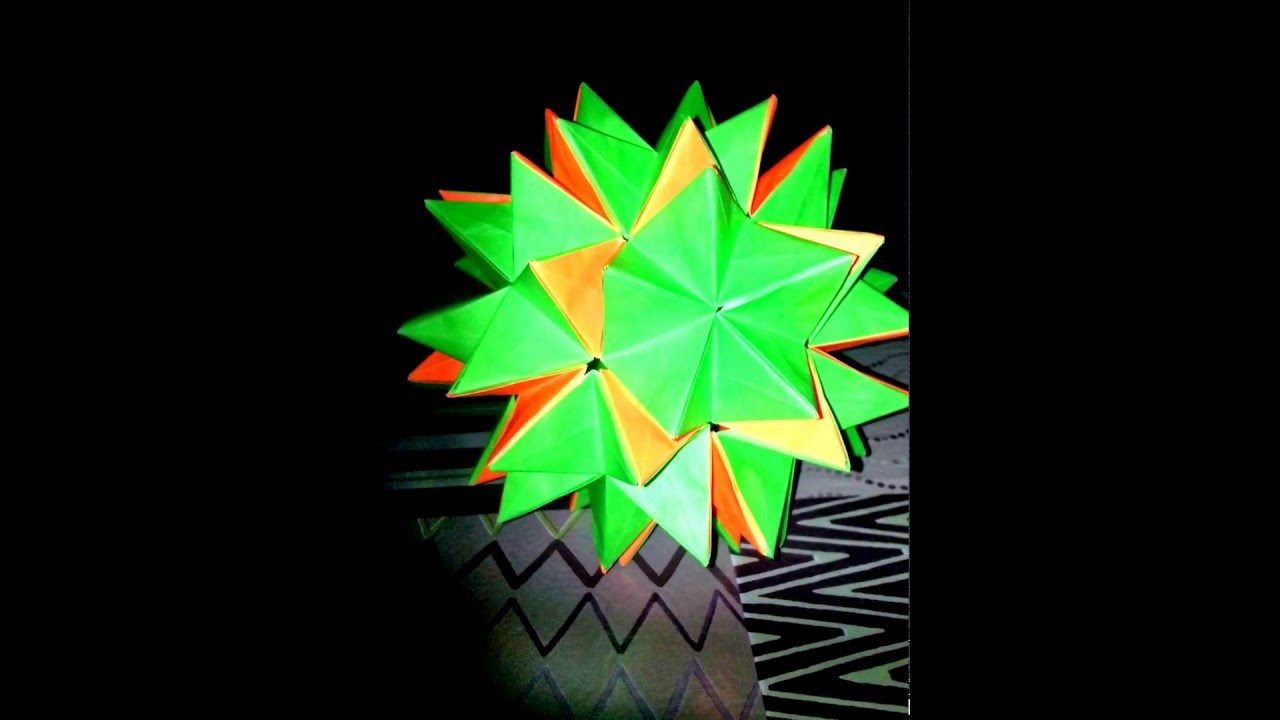 Esprit Origami Revealed Flower Youtube