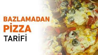 Bazlamadan Pizza Tarifi | Bazlama Pizza Nasıl Yapılır?