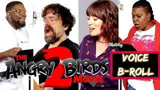 angry Birds 2 Movie Voice B-Roll and Behind the Scenes | Peter Dinklage and Leslie Jones