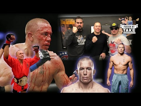 Would GSP Fight Conor McGregor? Georges St. Pierre Full Interview With Pardon My Take