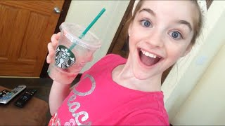 TRYING STARBUCKS FOR THE FIRST TIME?!